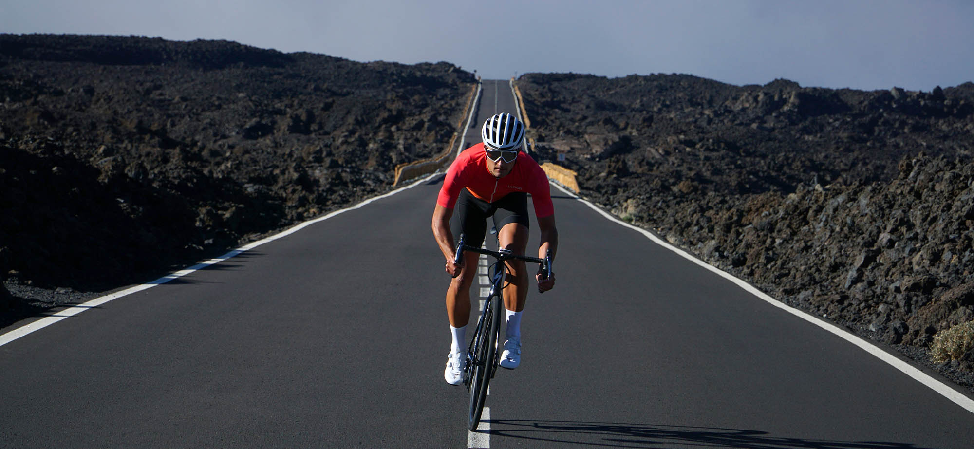luxa sunset jersey tested on sunny Tenerife island