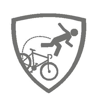 usługa crash replacement gwarantuje zniżkę po wypadku na rowerze