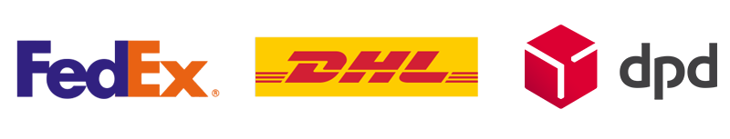 worldwide shipping by fedex and dhl