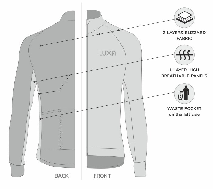 the best cycling green long sleeve in the world - luxa