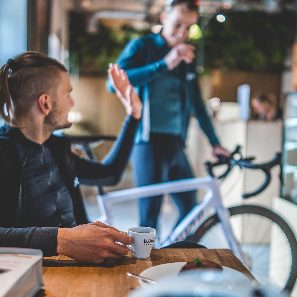 kawa dla kolarzy Luxa