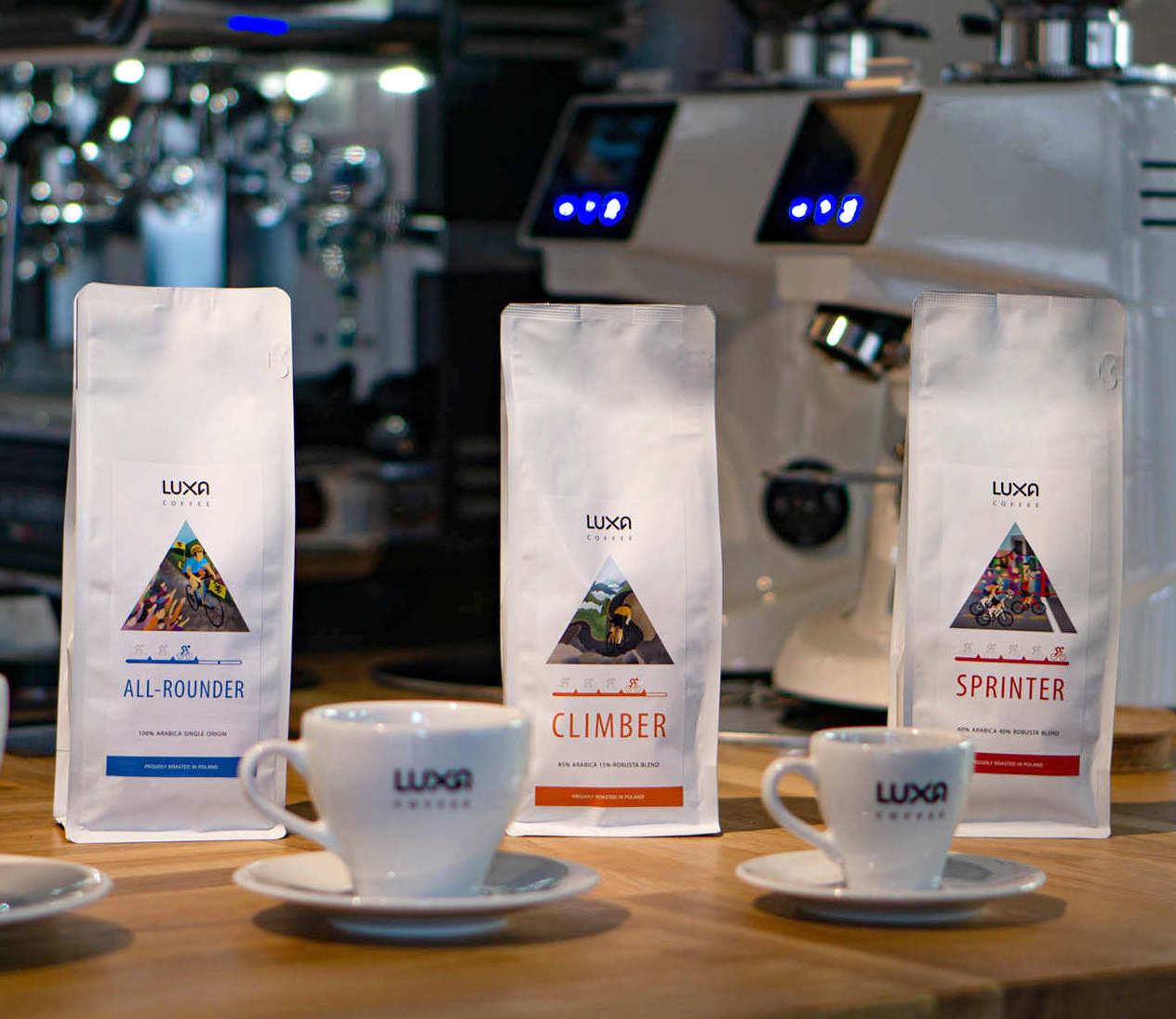 Kofeinowy doping dla kolarza - Kawy Luxa Coffee