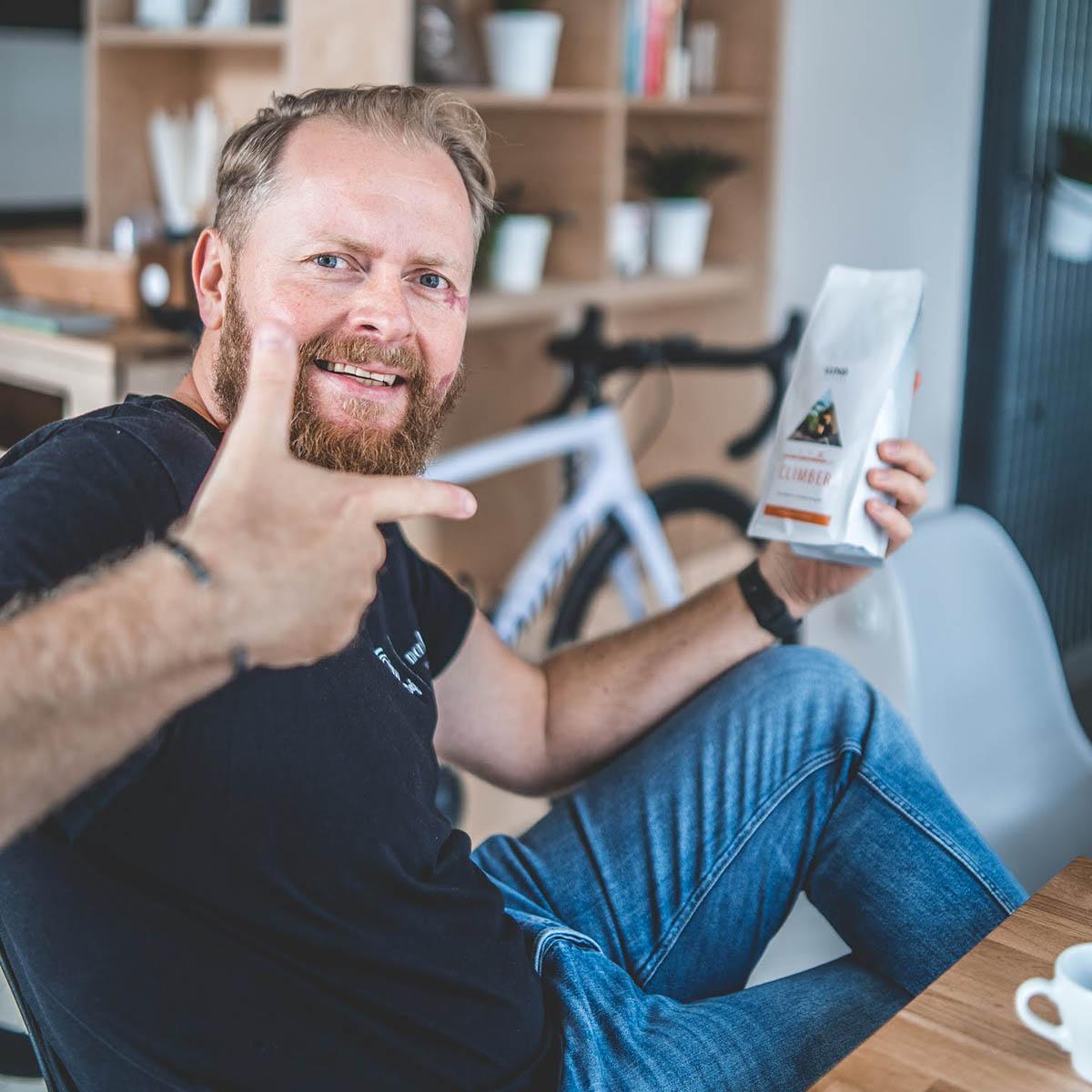 Marcin Gazowski - właściciel sieci kawiarni Monko