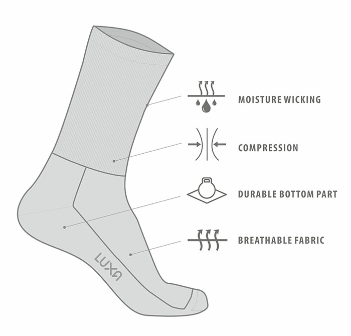 features of the best cycling socks should have